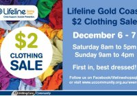 Lifeline Gold Coast 2 Clothing Sale